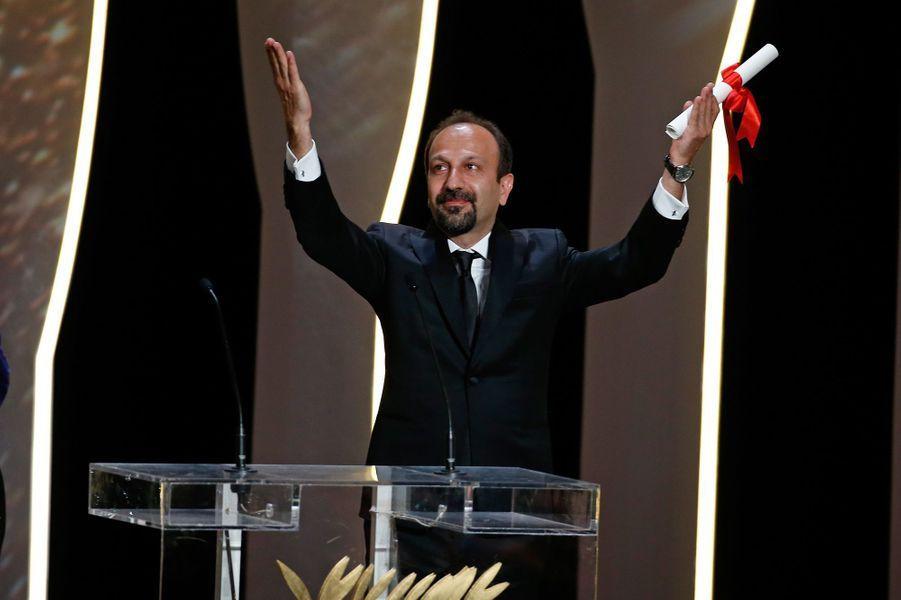 """Prix du scénario: Asghar Farhadi pour """"Le Client"""""""