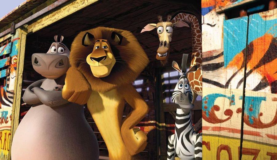 """Un dessin animé pour les enfants: """"Madagascar: Bons baisers d'Europe"""""""