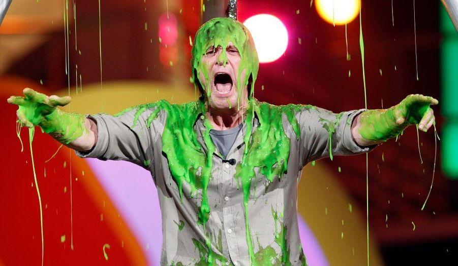 Jim Carrey inondé