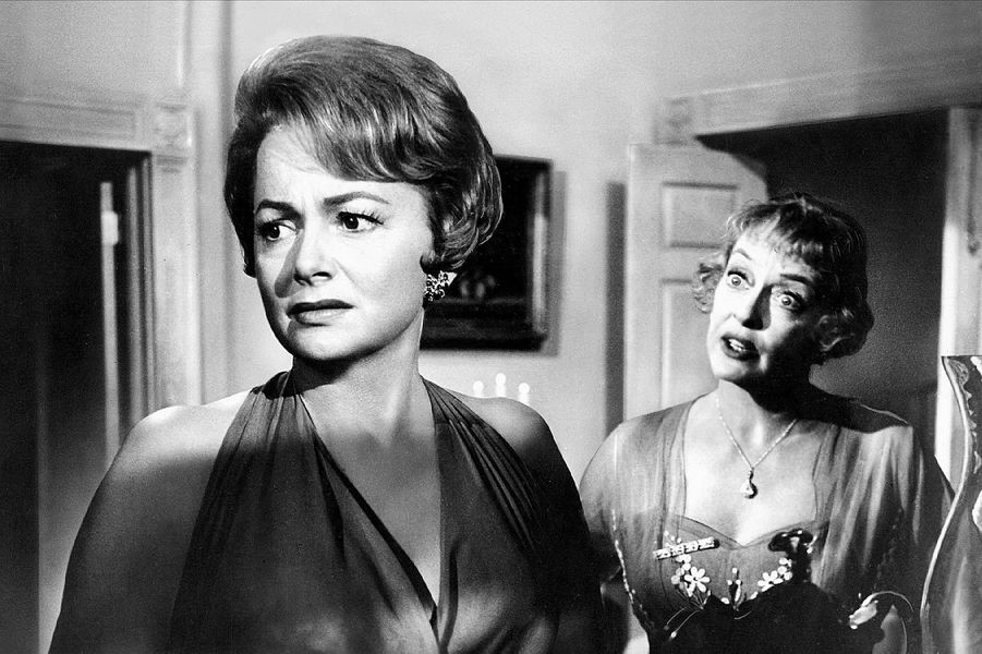 Avec Bette Davis, dans «Hush... Hush, Sweet Charlotte».