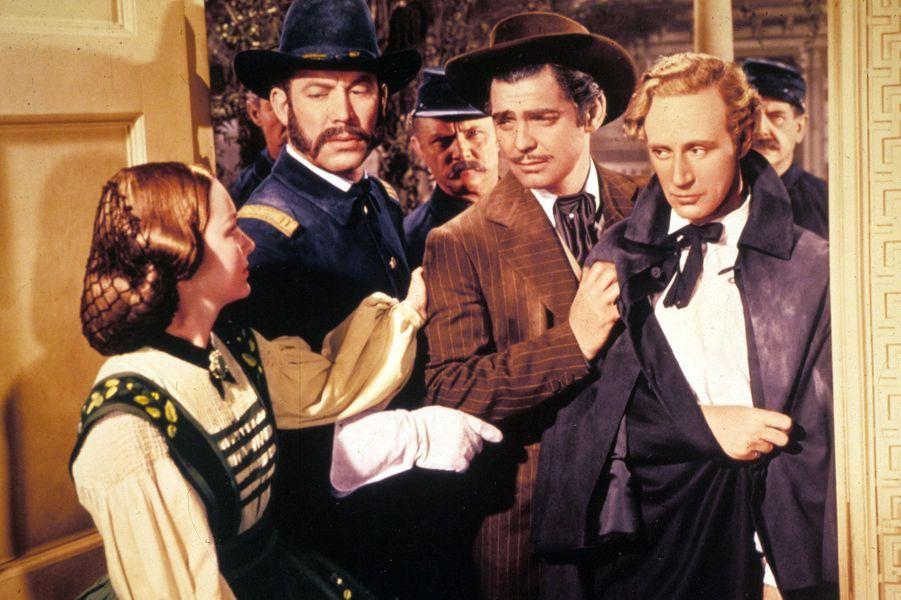 Avec Ward Bond, Clark Gable, Leslie Howard dans «Autant en emporte le vent».