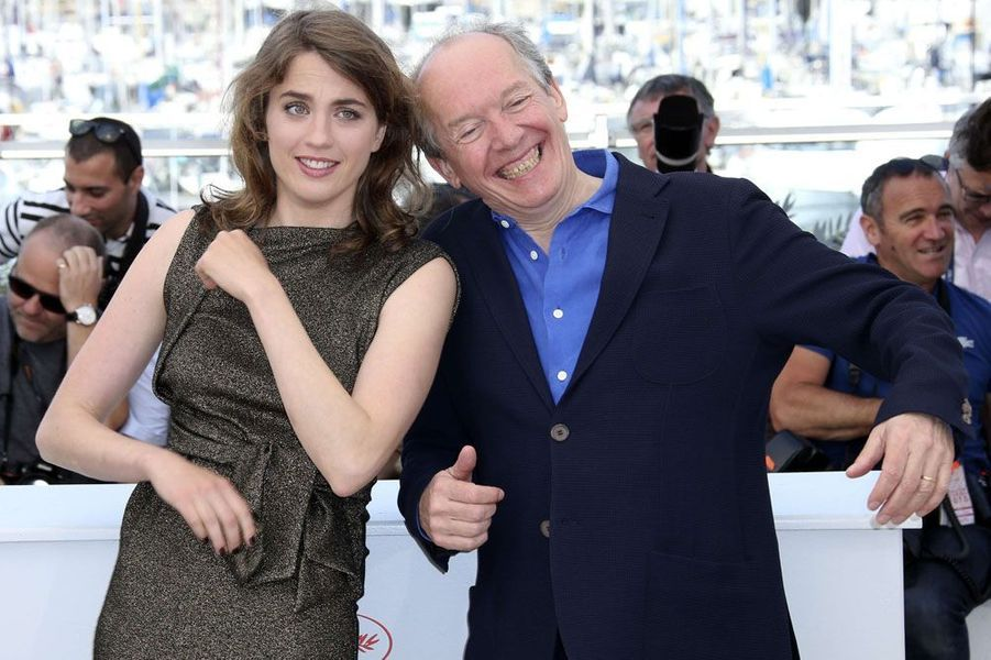 Adèle Haenel et Luc Dardenne