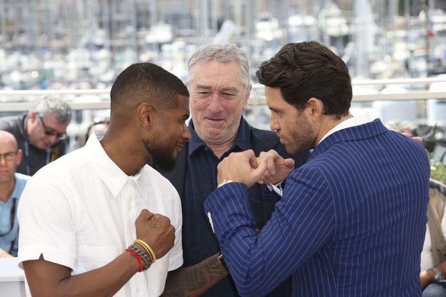 Usher, Robert de Niro et Edgar Ramirez