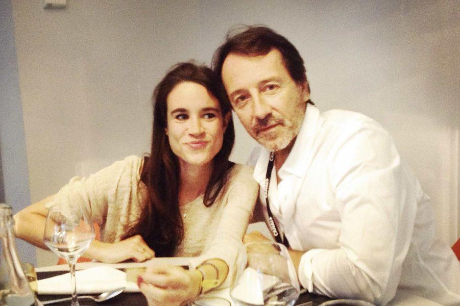 Charlotte Leloup, Jean-Hugues Anglade, président du jury. Une semaine plus tôt, le couple se trouvait dans le Thalys attaqué par un terroriste.