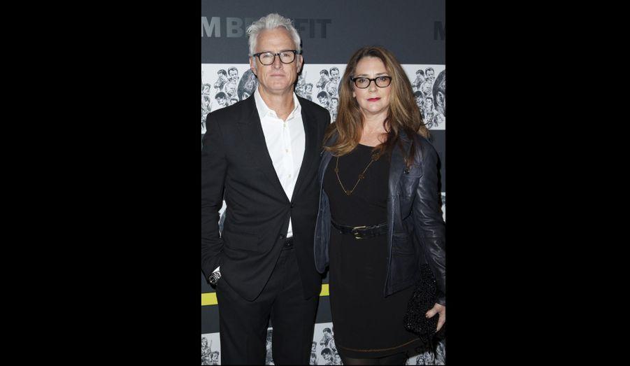 John Slattery et sa femme Talia Balsam