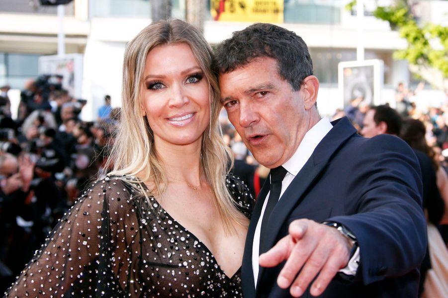 Antonio Banderas et son épouse