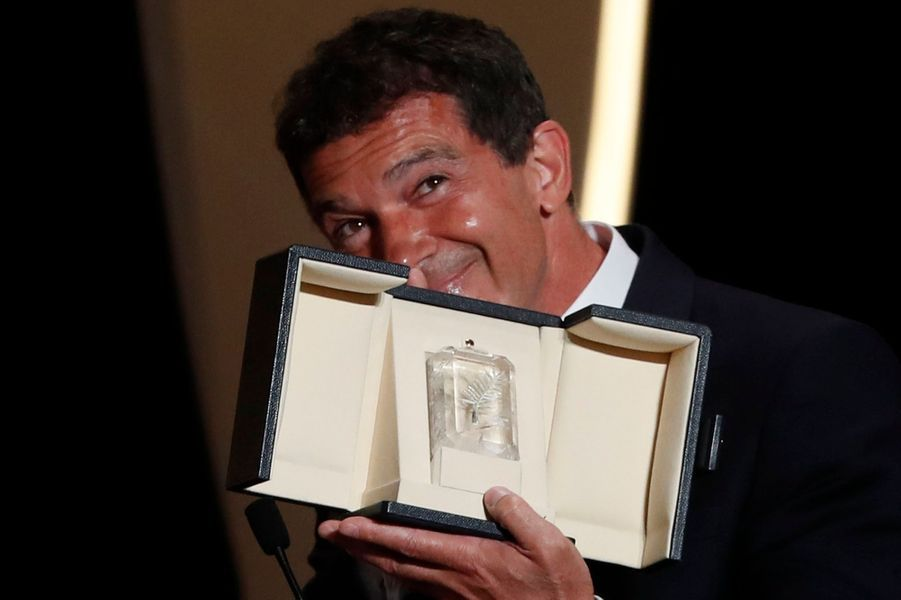 """Antonio Banderas, prix d'interprétation masculine pour """"Douleur et Gloire"""""""