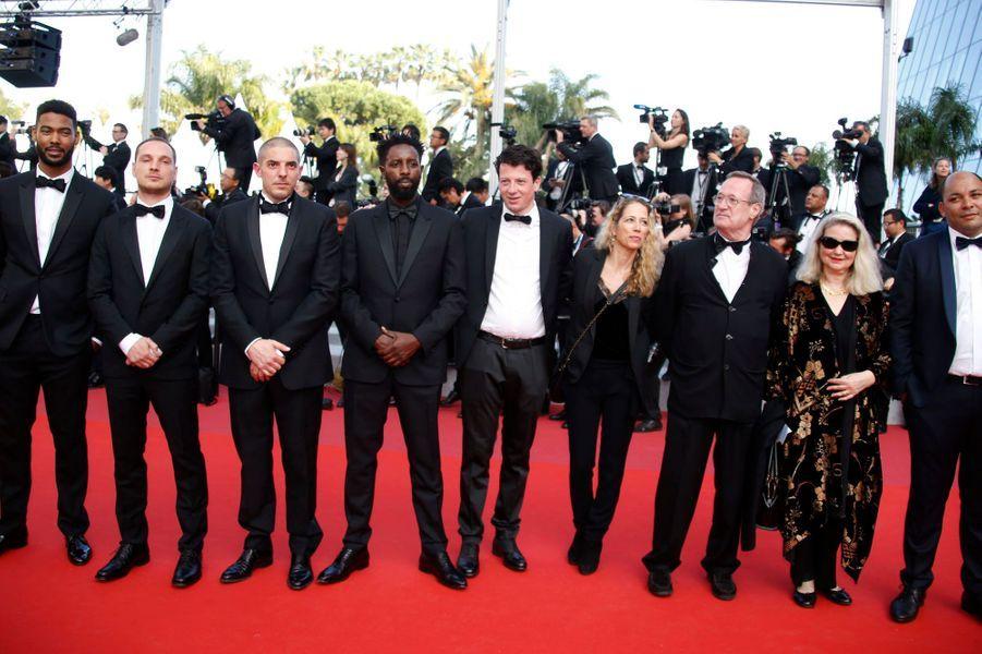 L'équipe du film «Les Misérables» de Ladj Ly.