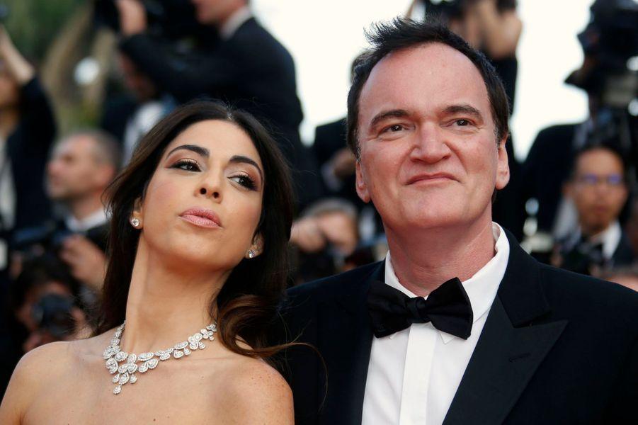 Danielle Pick et Quentin Tarantino