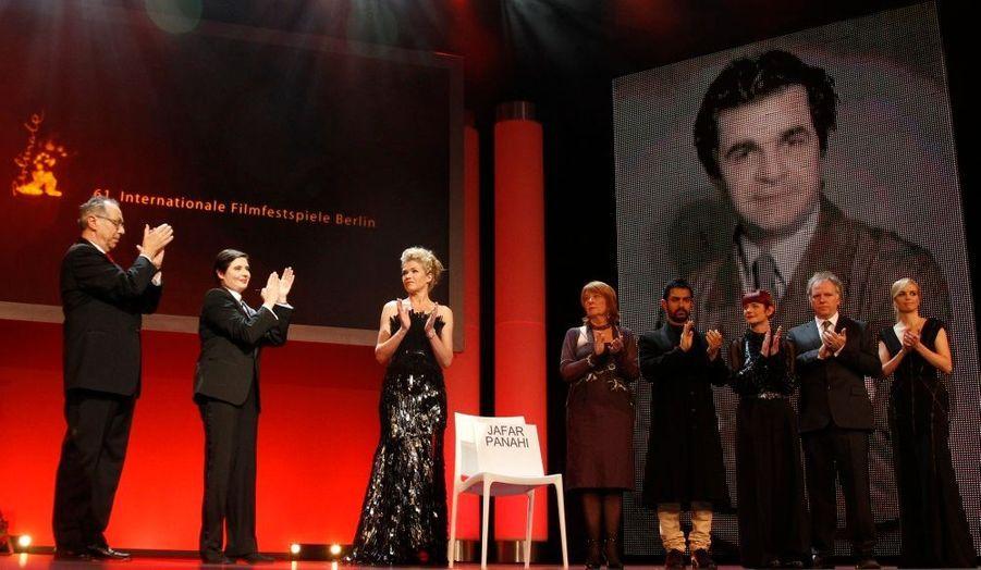 Le jury a rendu un hommage au cinéaste iranien Jafar Panahi, emprisonné à Téhéran.