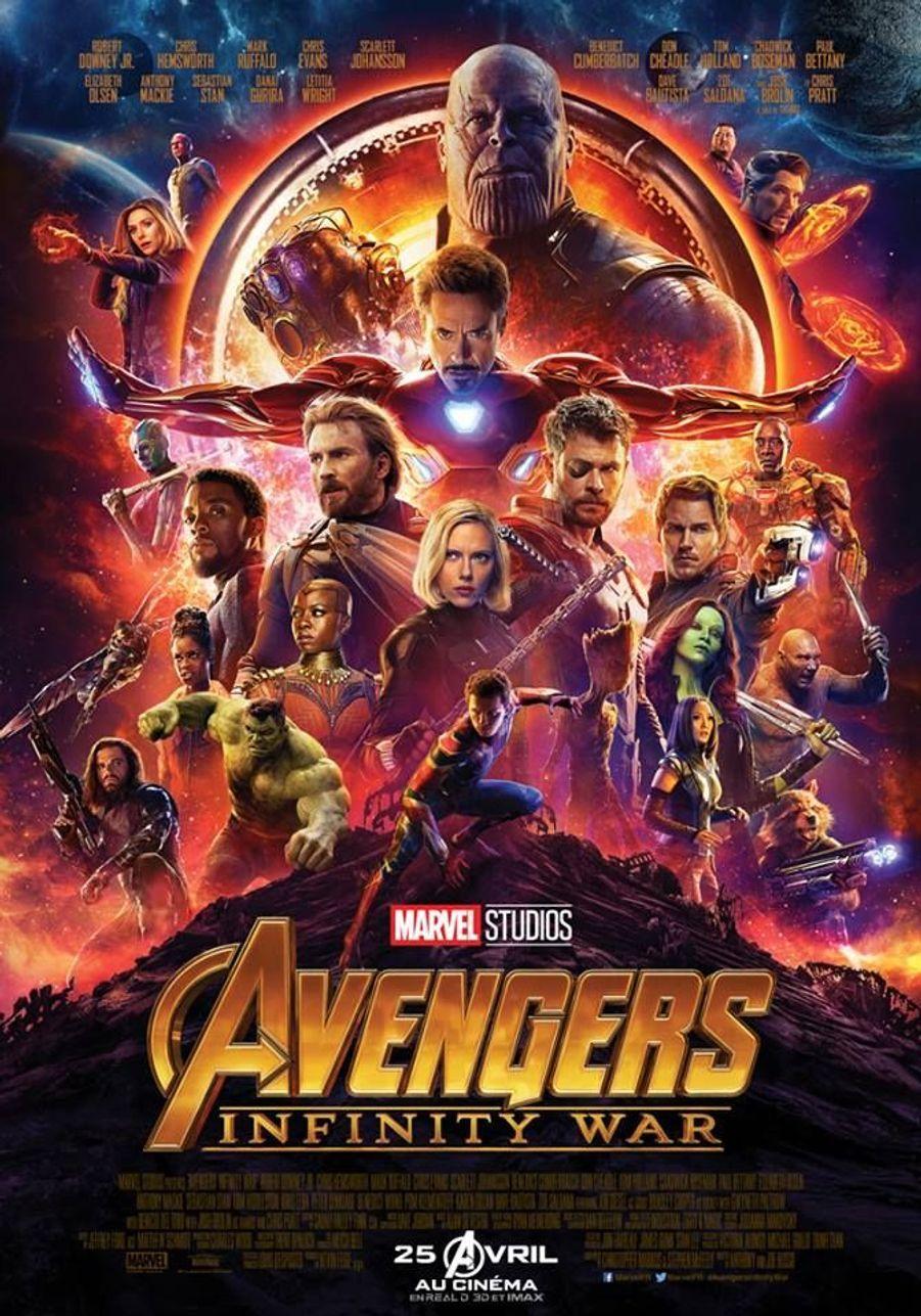 """Avengers 3 : Infinity War"" de Joe et Anthony Russo"