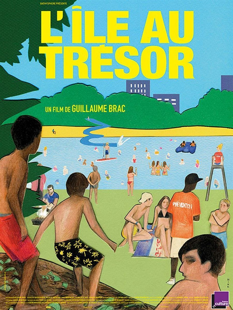 """L'Ile au trésor"" de Guillaume Brac"