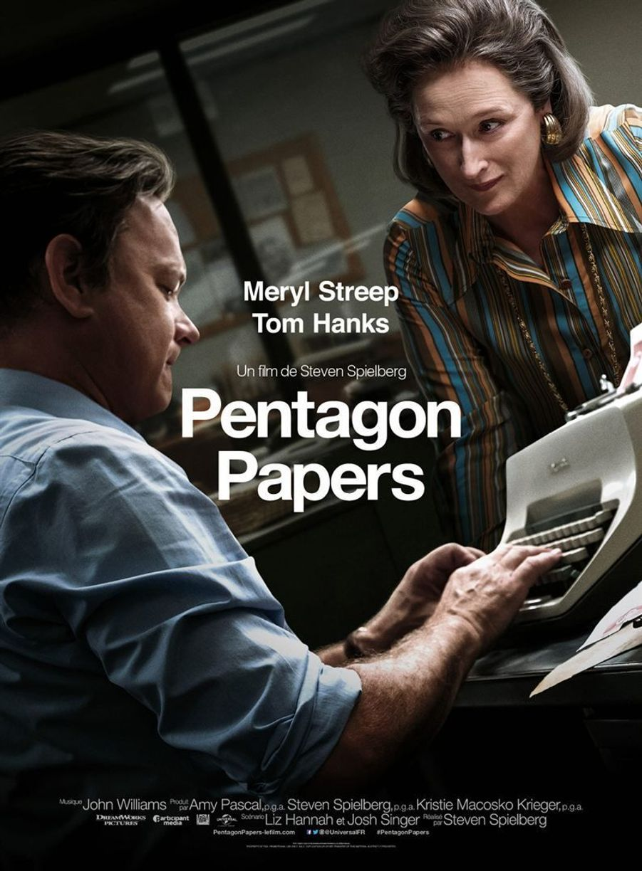 """""""Pentagon Papers"""" de Steven Spielberg"""