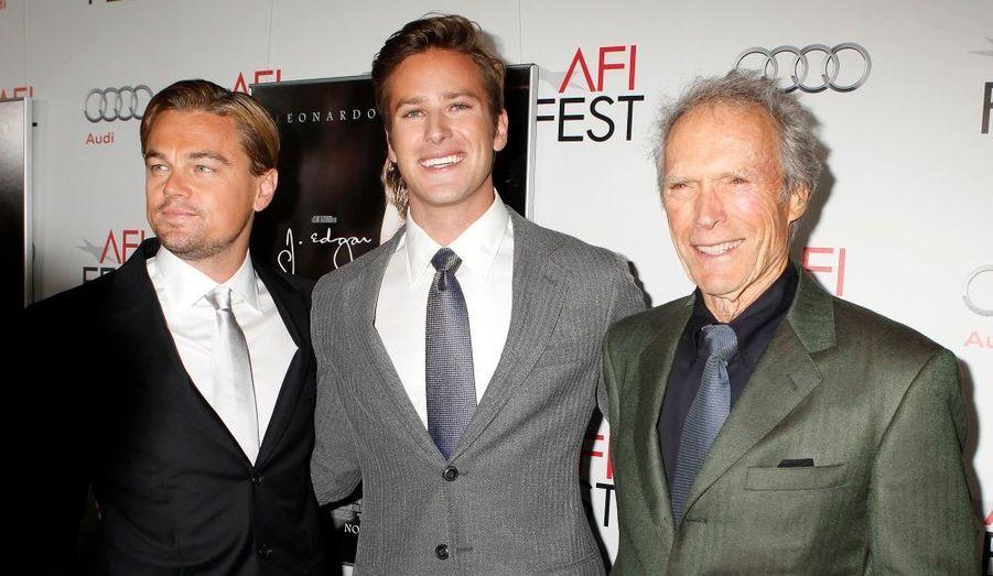 Les trois hommes de la soirée