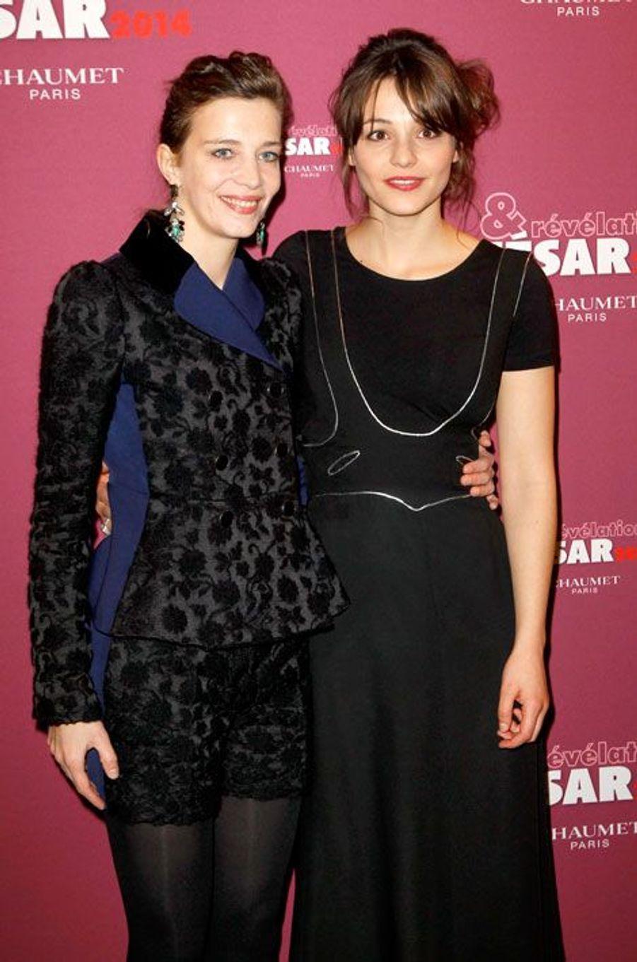 Céline Sallette et Pauline Parigot