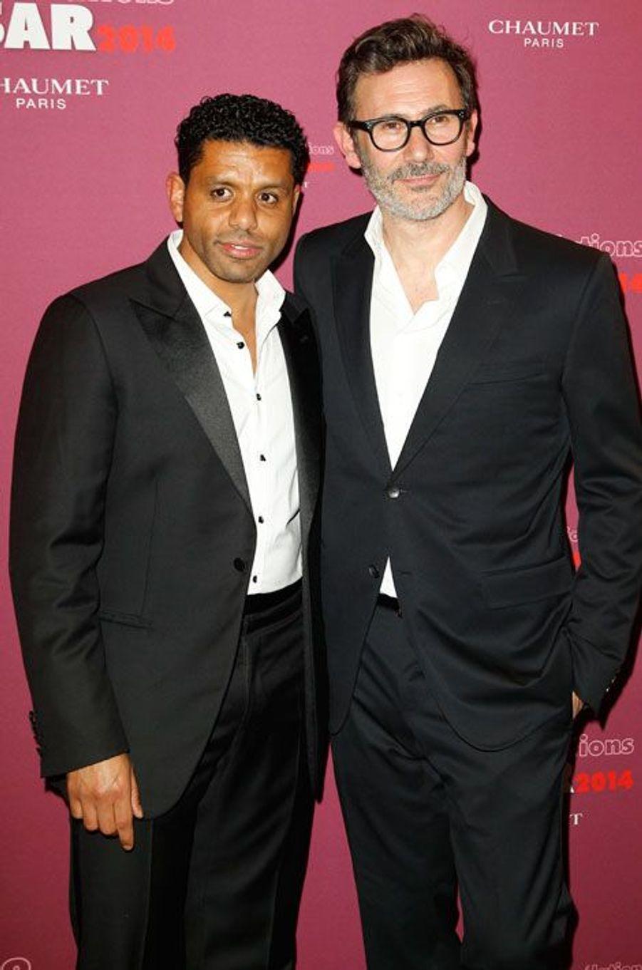 Youssef Hadji et Michel Hazanavicius