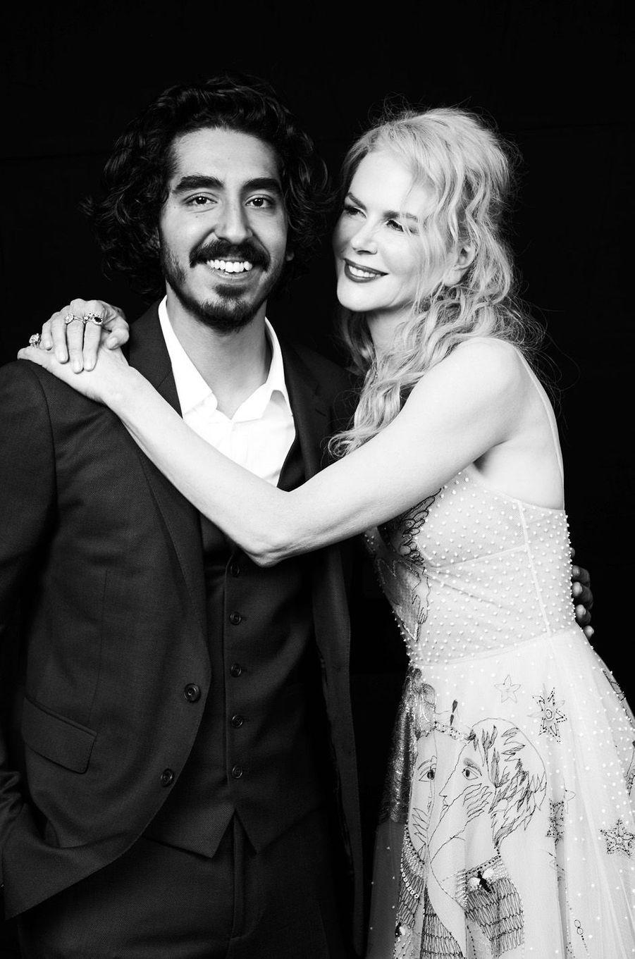"""Dev Patel et Nicole Kidman pour """"Lion"""""""