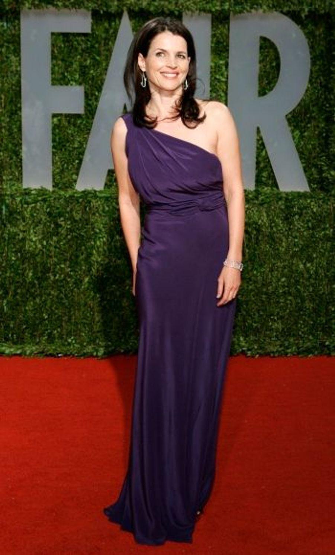 La Française Juliette Binoche a également fait une splendide apparition sur le tapis rouge...
