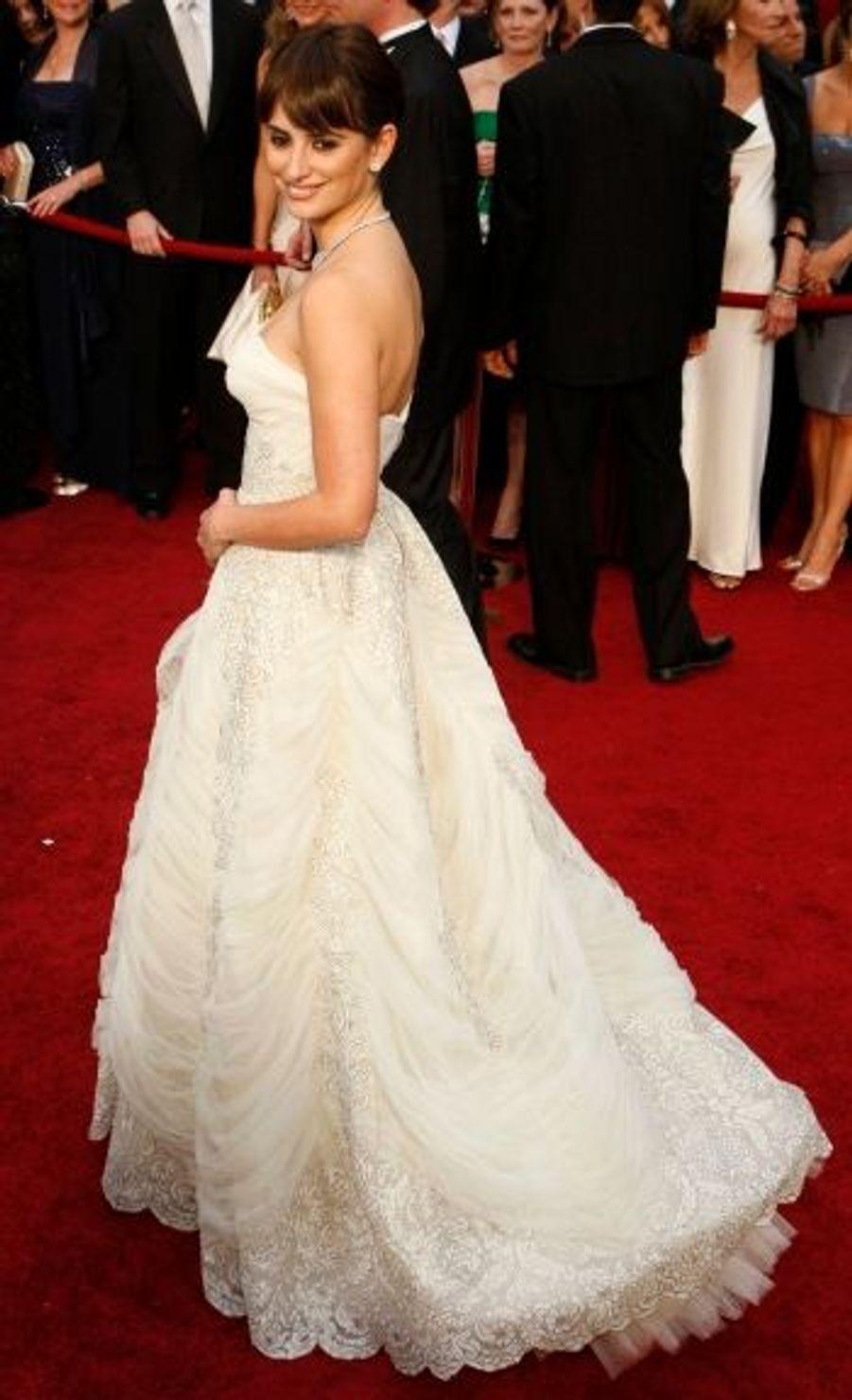 Comme attendu, Penelope Cruz a été récompensée pour son rôle dans 'Vicky Cristina Barcelona', dans la catégorie Second rôle féminin.