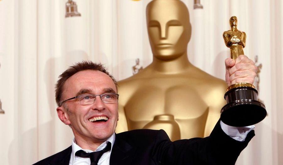 Sans surprise, Slumdog Millionaire a raflé huit Oscars (sur 10 nominations) dont ceux du Meilleur film et du meilleur réalisateur pour Dany Boyle ici en photo.