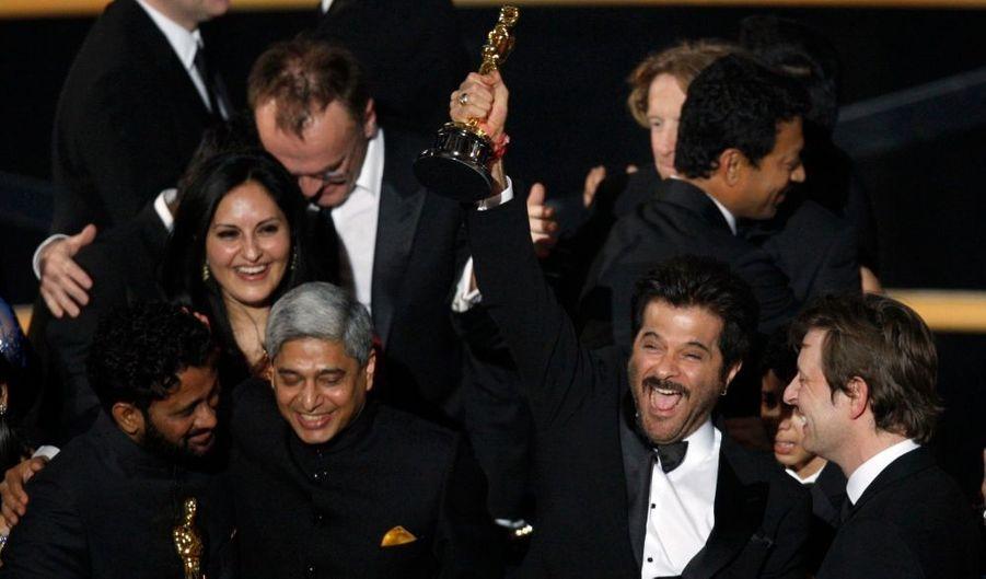 Sans surprise, Slumdog Millionaire, de Dany Boyle, a raflé huit Oscars (sur 10 nominations) dont ceux du Meilleur film et du meilleur réalisateur.