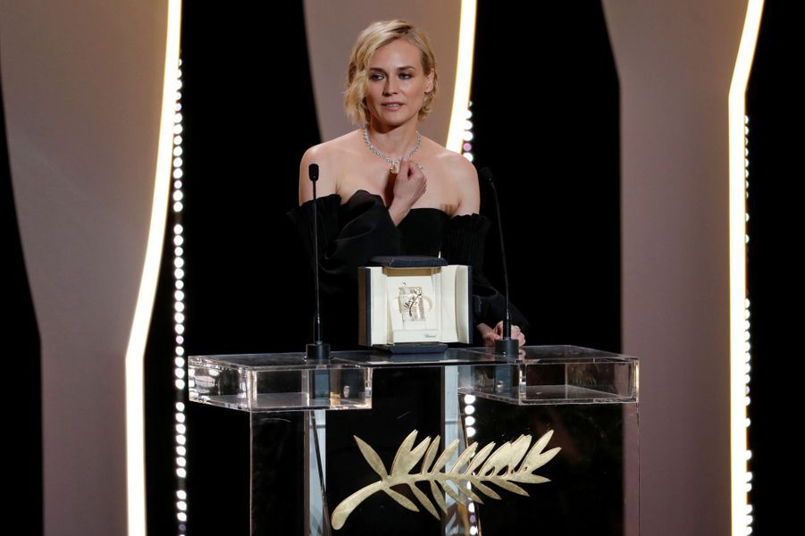 Prix d'interprétation féminine :Diane Kruger pour «In The Fade» de Fatih Akin