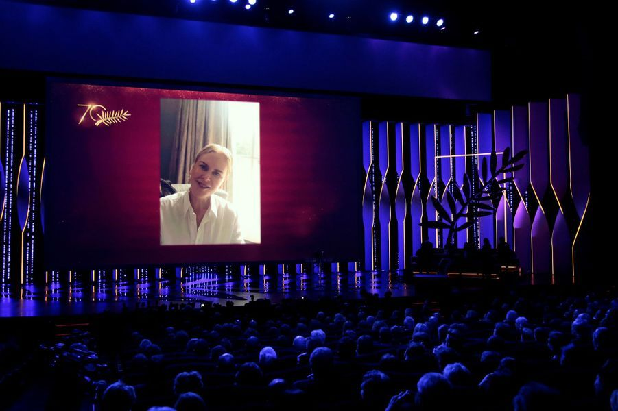 Prix du 70e anniversaire : l'actrice Nicole Kidman