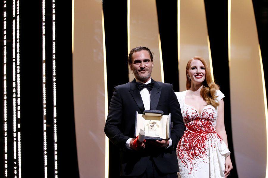 Prix d'interprétation masculine :Joaquin Phoenix pour«You Were Never Really Here» de Lynne Ramsay