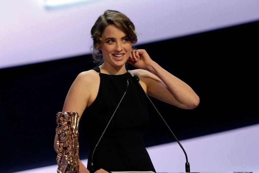 Adèle Haenel, meilleure actrice