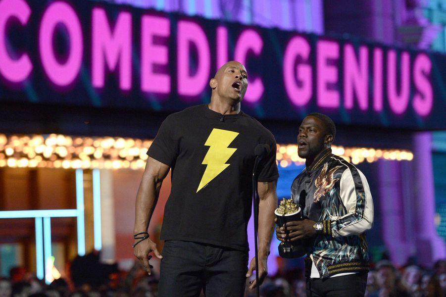 Dwayne Johnson et Kevin Hart