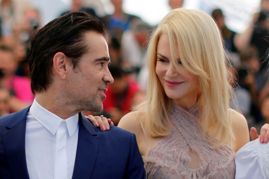 Colin Farrell et Nicole Kidman