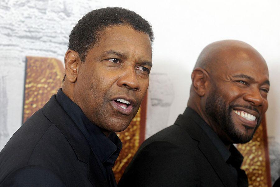 Denzel Washington et Antoine Fuqua.