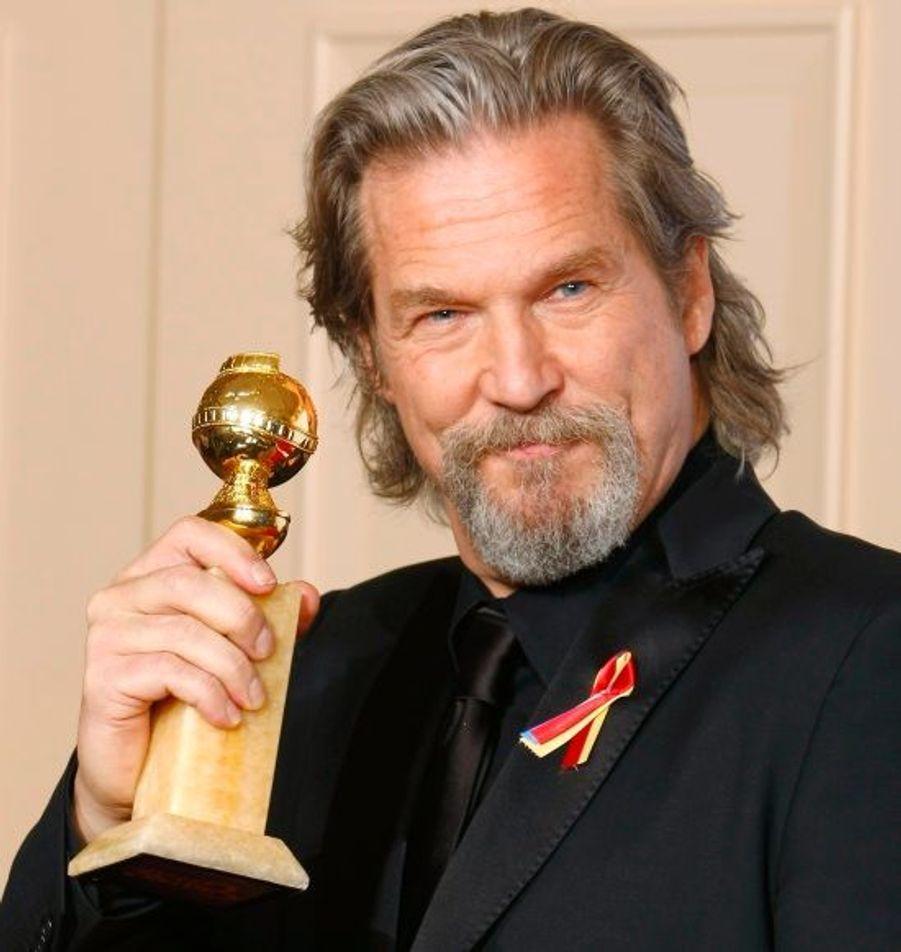 Meilleur acteur dans un film dramatique pour Crazy Heart.