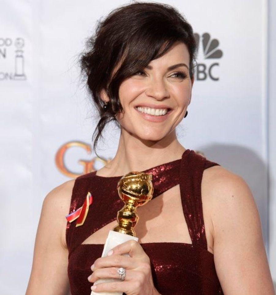 Meilleure actrice dans une série dramatique pour son rôle dans The Good Wife.