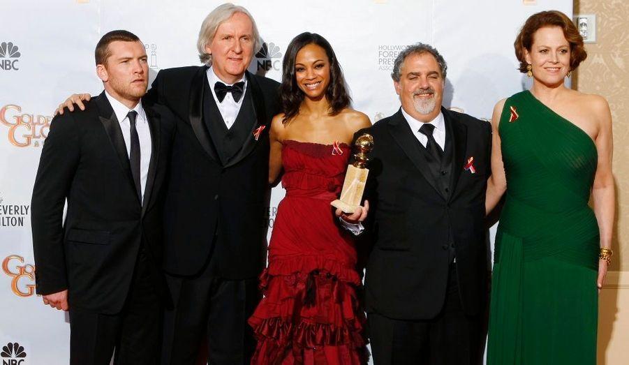 Le film de James Cameron repart avec les deux principales récompenses: Meilleur réalisateur et Meilleur film dramatique.