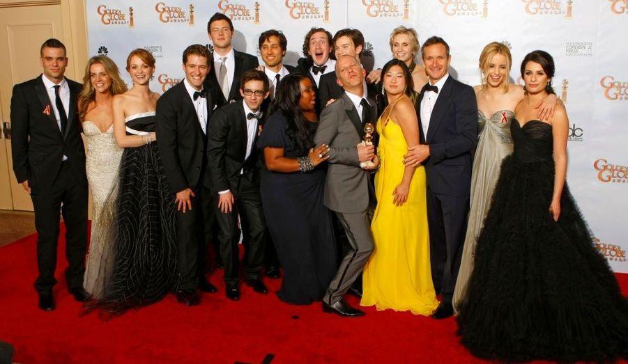 La série Glee rafle la mise dans la catégorie Meilleure série musicale ou comédie.