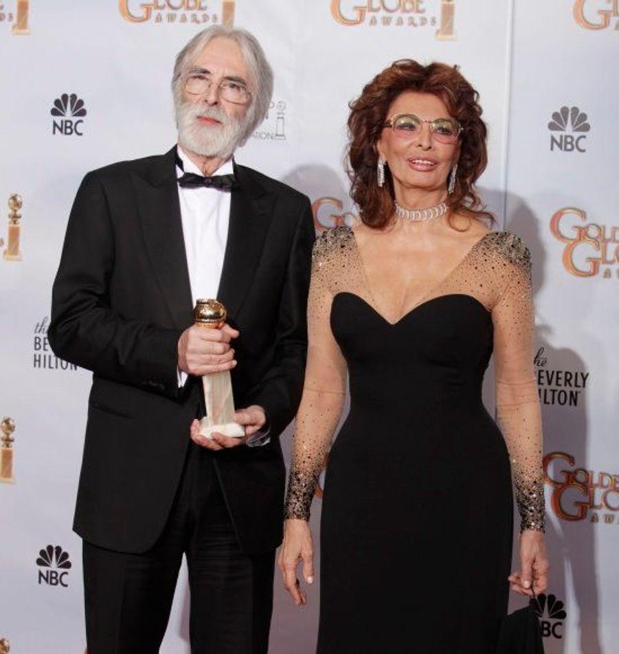 Le réalisateur autrichien Michael Haneke repart avec le prix du Meilleur film en langue étrangère pour Le Ruban Blanc.