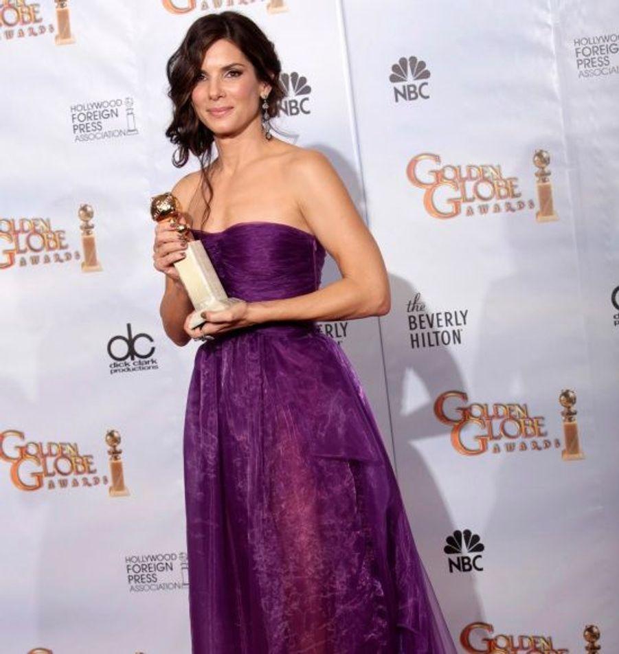 Meilleur actrice dans un film dramatique pour The Blind Side.