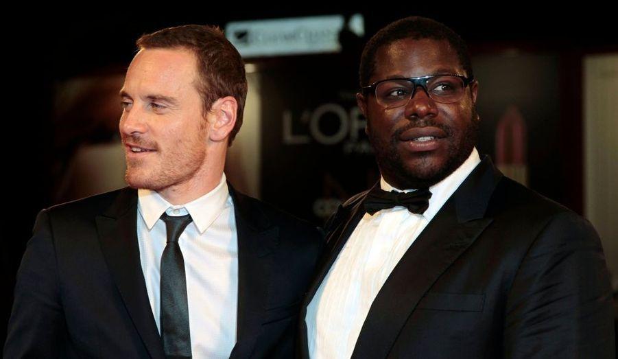 L'acteur Michael Fassbender et le réalisateur Steve McQueen ont foulé le tapis rouge de Venise pour le film «Shame»