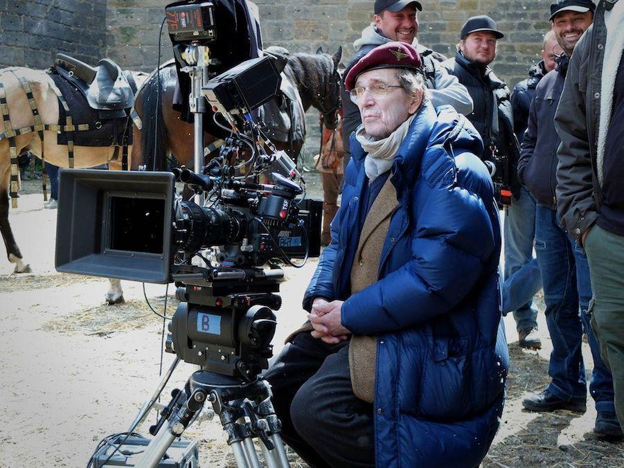 Jean-Marie Poiré sur le tournage