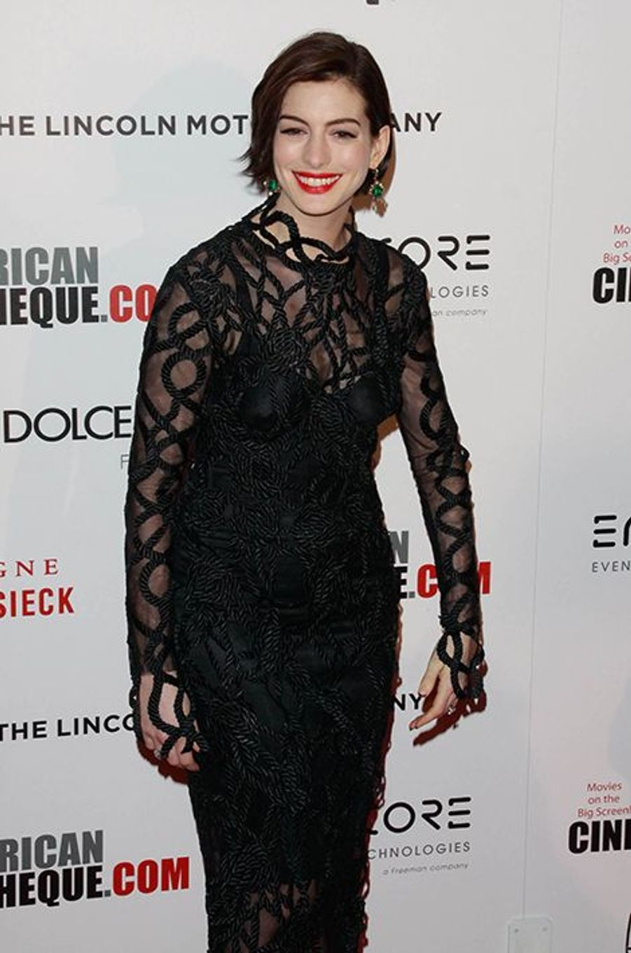 Anne Hathaway à Los Angeles le 21 octobre 2014
