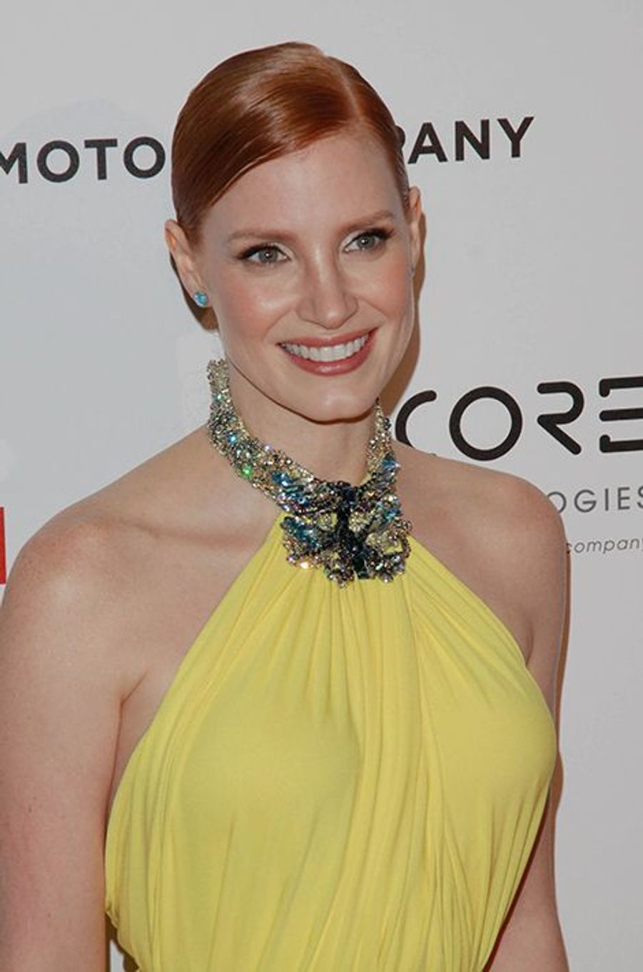 Jessica Chastain à Los Angeles le 21 octobre 2014