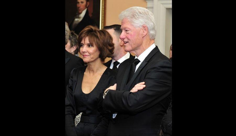 Bill Clinton et Capricia Penavic Marshall