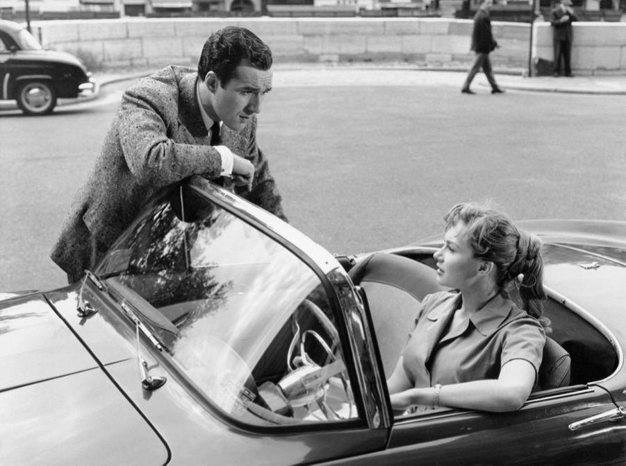 Michel Piccoli dans «Rafles sur la ville» de Pierre Chenal en 1958