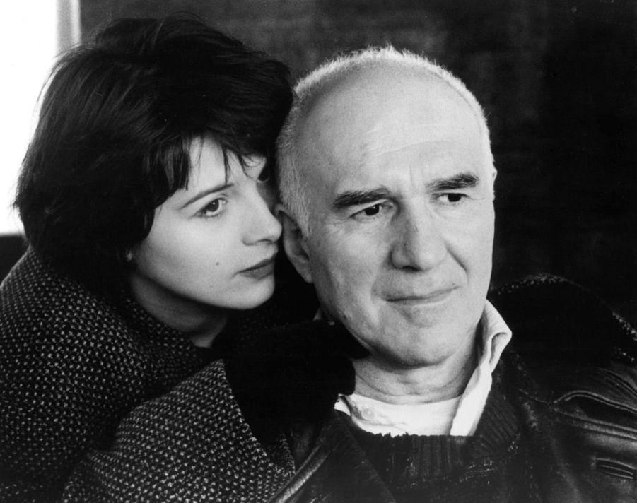 Michel Piccoli dans «Mauvais Sang» de Leos Carax en 1986