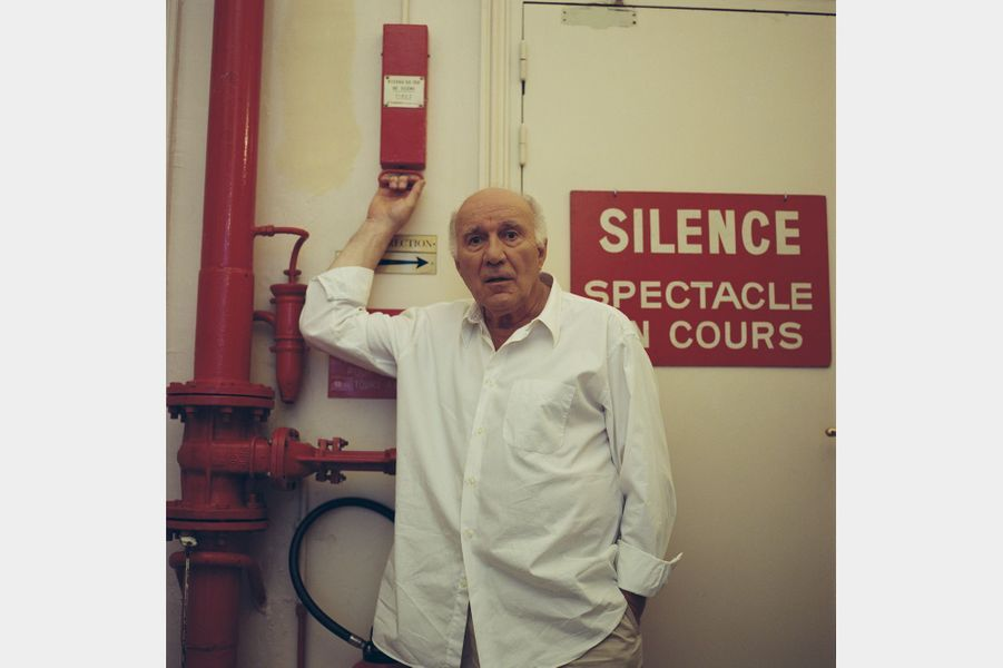 Michel Piccoli à Paris, en août 2001.
