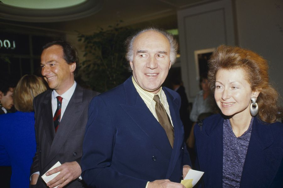 Michel Piccoli à Paris, en mars 1987.