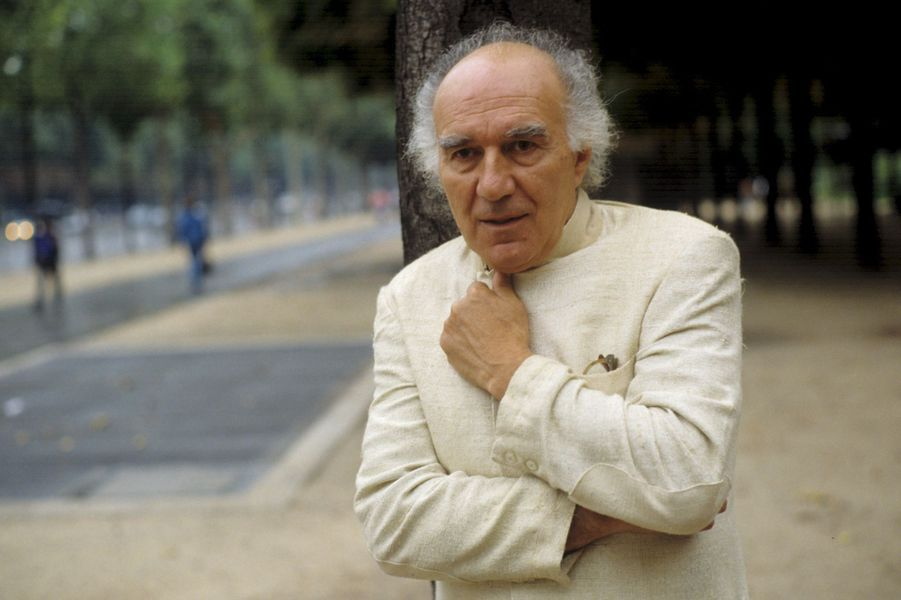 Michel Piccoli à Paris, en septembre 1991.