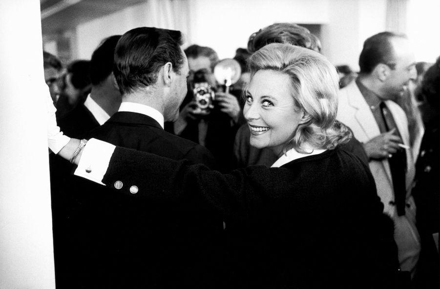 Michèle Morgan à Cannes en 1962.