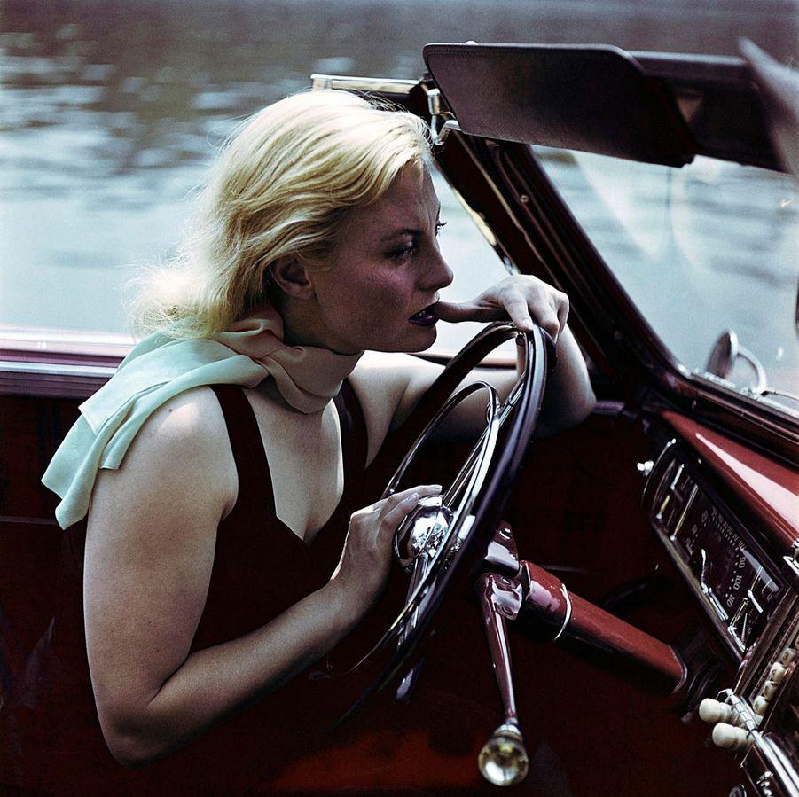 Michèle Morgan, en 1949.